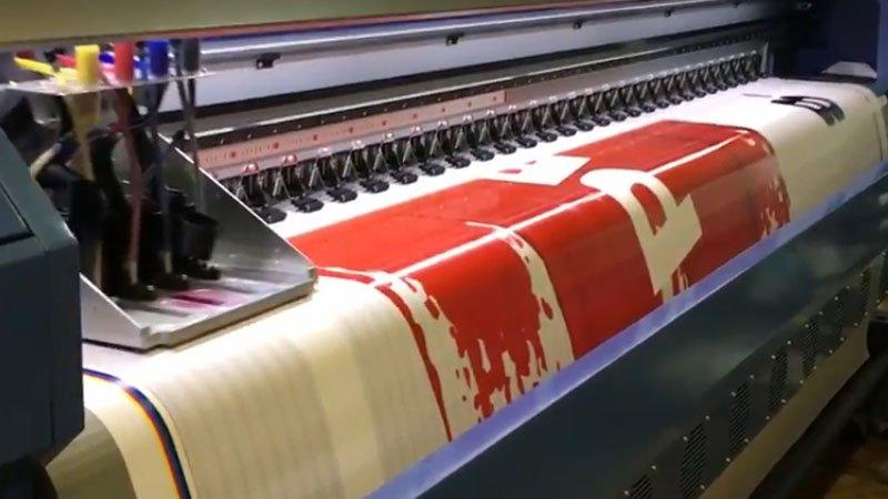 Изготовление широкоформатных баннеров на заказ